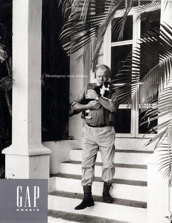 Gap's khakis campaign understood branding.