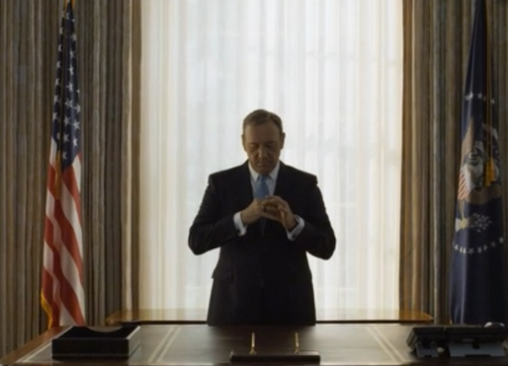 Social media, Frank Underwood, House of Cards