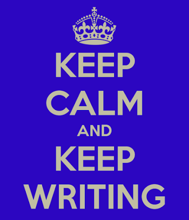 Keep calm and keep writing - @GerryMoran