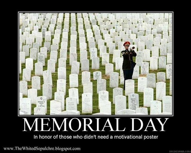 Memorial Day, Monday Motivation, ParkerMather