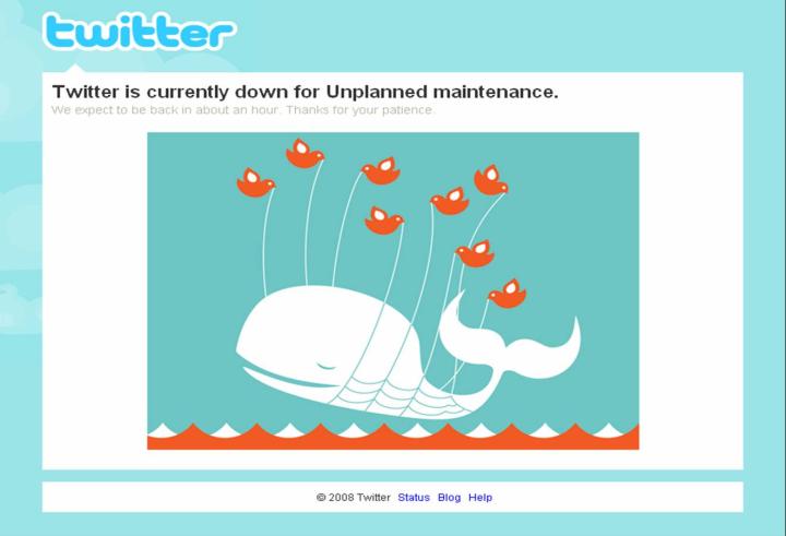 Fail Whale, Twitter, ParkerMather, Mikhail Bell