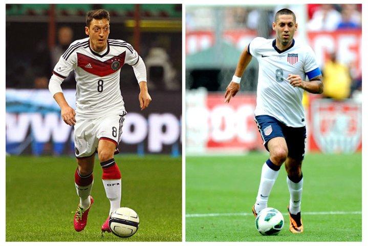 Germany_USA Ozil Dempsey - Soccer.com