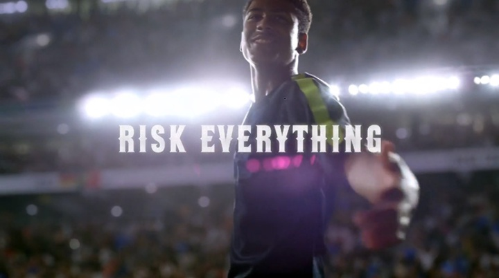 Risk Everything Nike Soccer