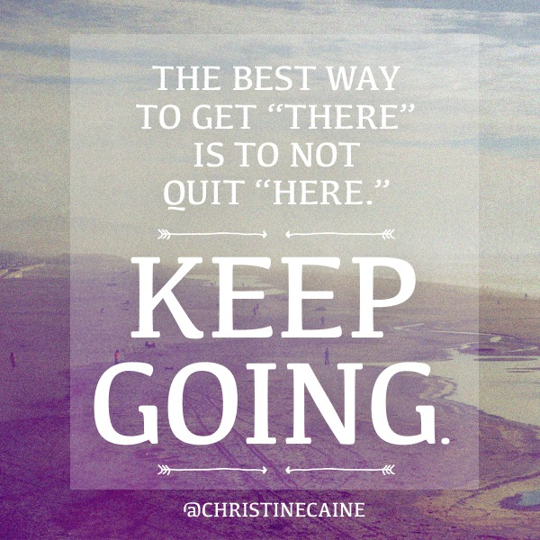 Keep Going - Christine Caine