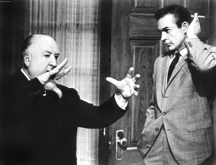 Sean Connery, Alfred Hitchcock, Social Media, ParkerMather
