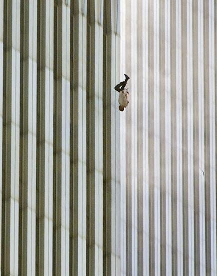 Falling Man 9/11 Photo by Richard Drew, AP