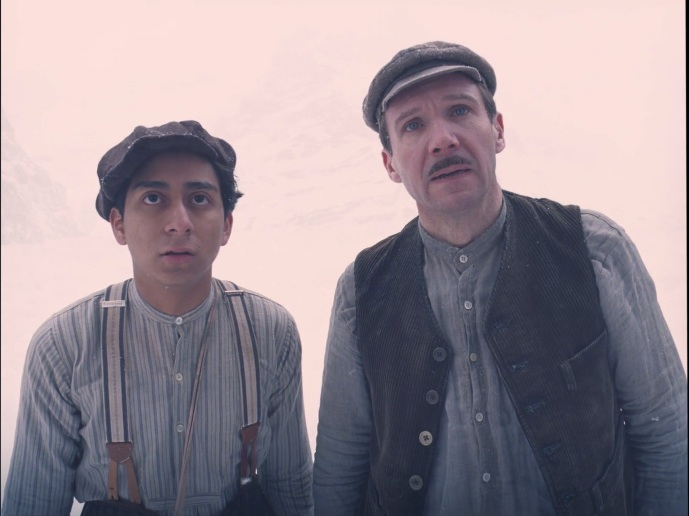 The Grand Budapest Hotel - Zero Mustafa and M. Gustave