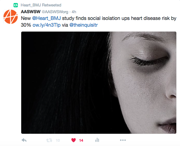 Heart Journal RTs AASWSW Twitter example.png