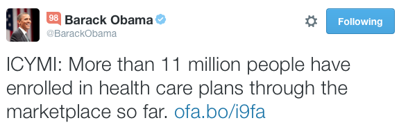 President Obama ICYMI example - Twitter.png