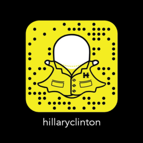snapchatefame_snapchat_hillary_clinton