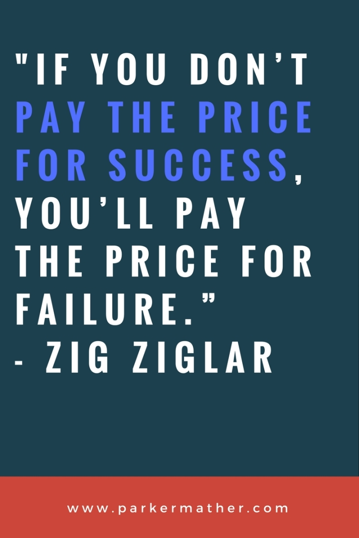 Zig Zigler success quote